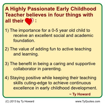Ty Howard on Teaching, Quotes for High School Teachers, Motivational Early Childhood Quotes for Teachers Educators, Quotes on Education, Quotes for Education