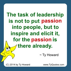 Ty Howard on Leadership, Quotes on Leadership