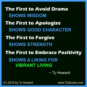 Ty Howard on Living, Quotes for Living High School Teachers, Motivational Quotes for Teachers Educators