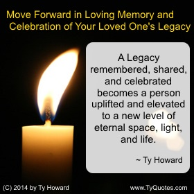 Ty Howard on Moving Forward, Quotes for Teens, Quotes for Teachers Educators Administrators, Quote on Loss and Moving Forward