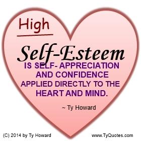 Ty Howard Self Esteem Quote