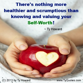 Ty Howard Self Worth Quote