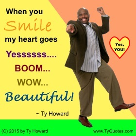 Ty Howard on Smiling, Smile Quotes for Teachers Educators Administrators, Quotes on Smiling